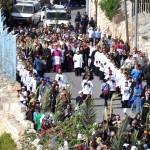 Catholic Palm Sunday Procession 2015