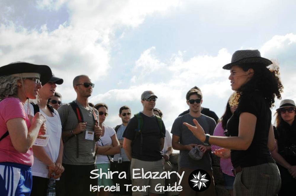 Guiding a URJ Birthright group