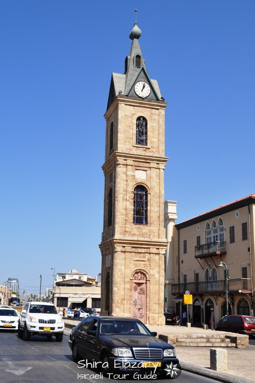 Old Jaffa's Clock Tower