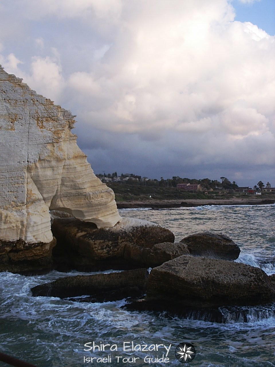 The Elephant's Foot formation at Rosh Hanikra